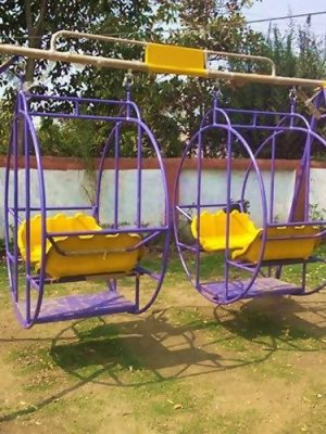 Fiber Garden Swing Kids Hanging Seat Toys with Height Adjustable Chain Indoor Outdoor Toys Raha Curved Board Swing Chair